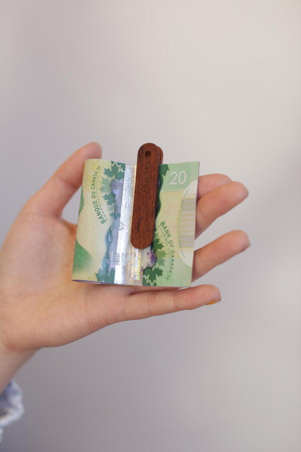 Hacoa Wooden Money Clip