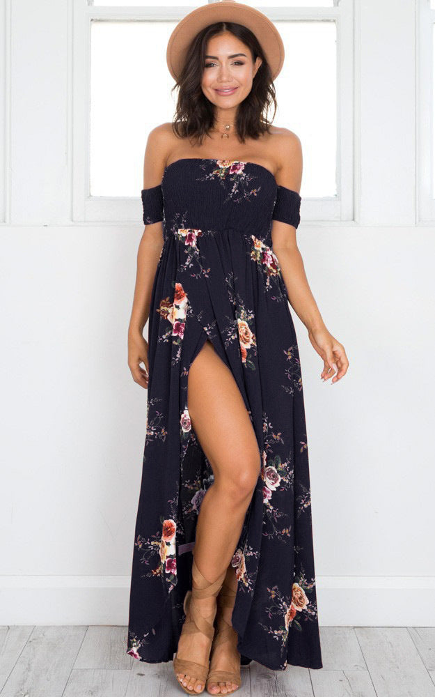 Long Dress Women Off Shoulder