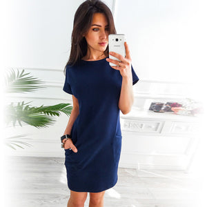 Women Loose Straight Party Dress