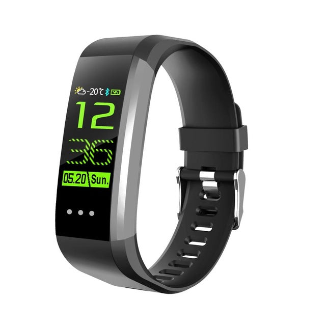 Sports CK16 smart wristband ECG PPG heart rate blood pressure sleep monitoring BT sport bracelet fitness watch for xiaomi apple