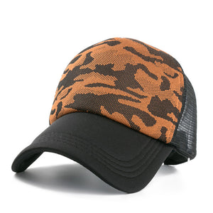 New 1PCS Women Cap Female Summer Camouflage Baseball Cap Outdoor Casual Adjustable Sports Cap