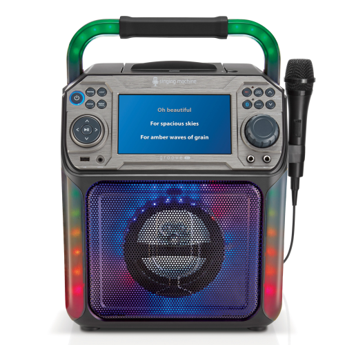 Singing Machine Groove XL Bluetooth + Light Show
