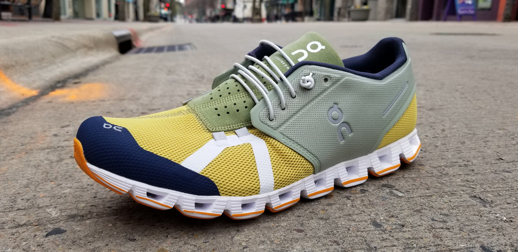 Men's ON Cloud 70|30 Leaf/Mustard - Sneakers - ON Men's - shoostore