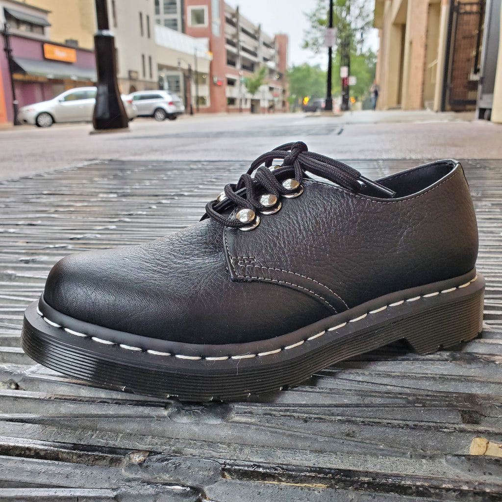 Dr. Marten 1461 Black Virginia Oxford - Oxfords - Dr. Martens - shoostore