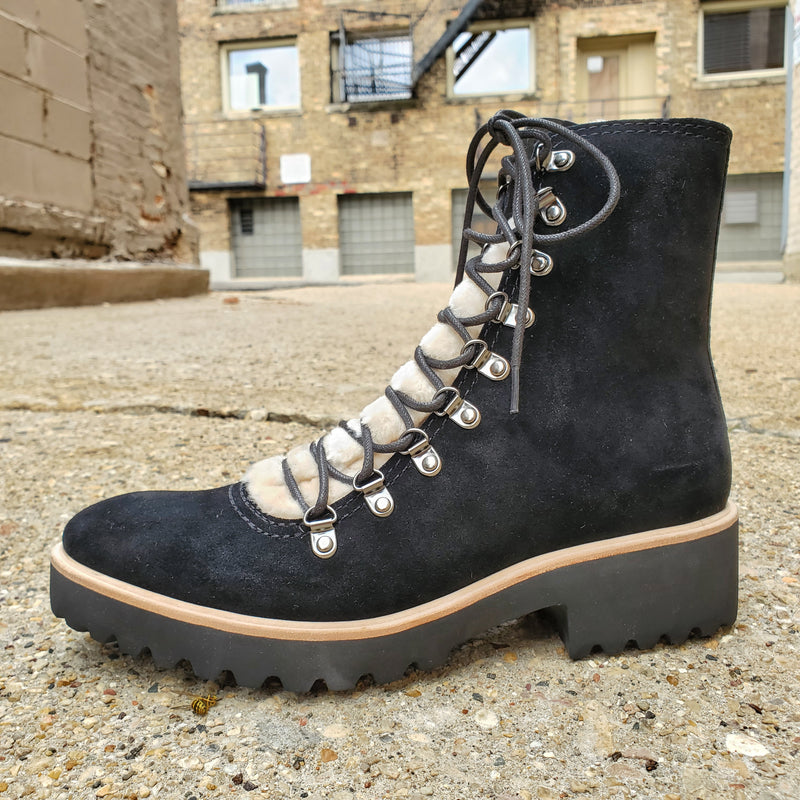 All Black Sherpa 2020 - Boot - All Black - shoostore