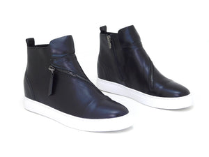All Black Hi Top Black - Shoes - All Black - shoostore
