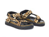 All Black Jungle Lowform Sandal - Sandals - All Black - shoostore