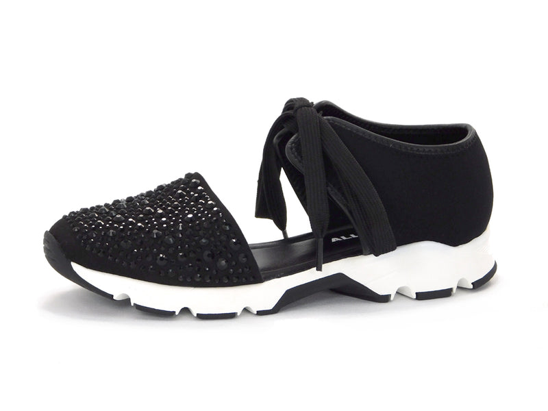 All Black Amazing Gems Sneaker