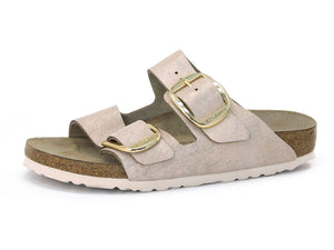 Birkenstock Arizona Big Buckle Metallic Rose - Sandals - Birkenstock - shoostore