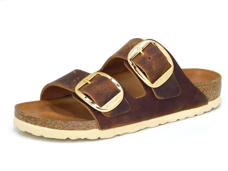 Birkenstock Arizona Big Buckle Cognac - Sandals - Birkenstock - shoostore