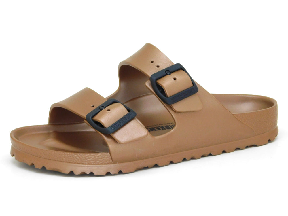 Birkenstock Women's Arizona EVA Metallic Copper - Sandals - Birkenstock - shoostore