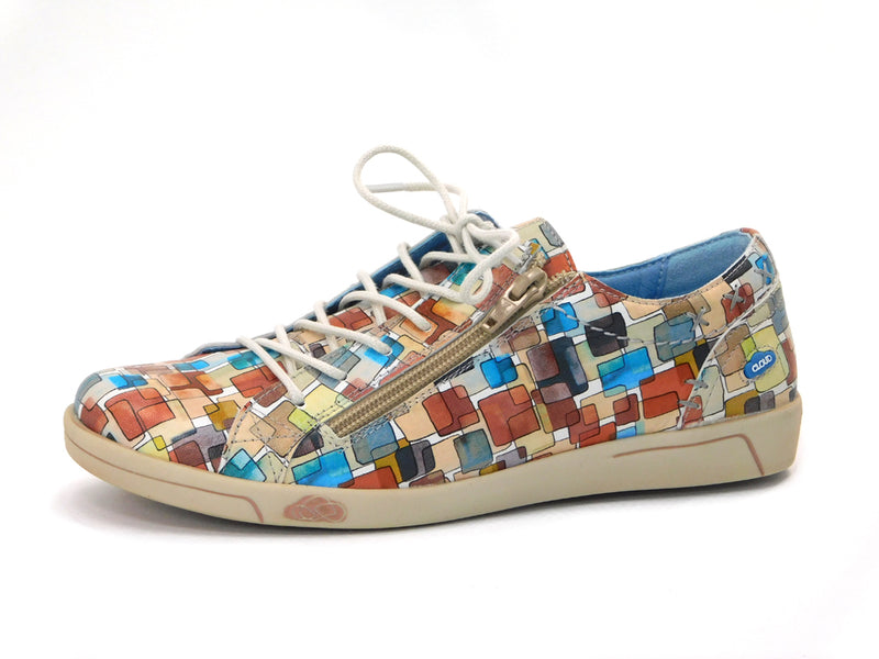 Cloud Aika Sneaker Squares Multi - Sneakers - Cloud - shoostore