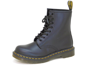 Dr. Martens Women's 1460W Black Smooth Leather Lace up Boot - Boot - Dr. Martens - shoostore