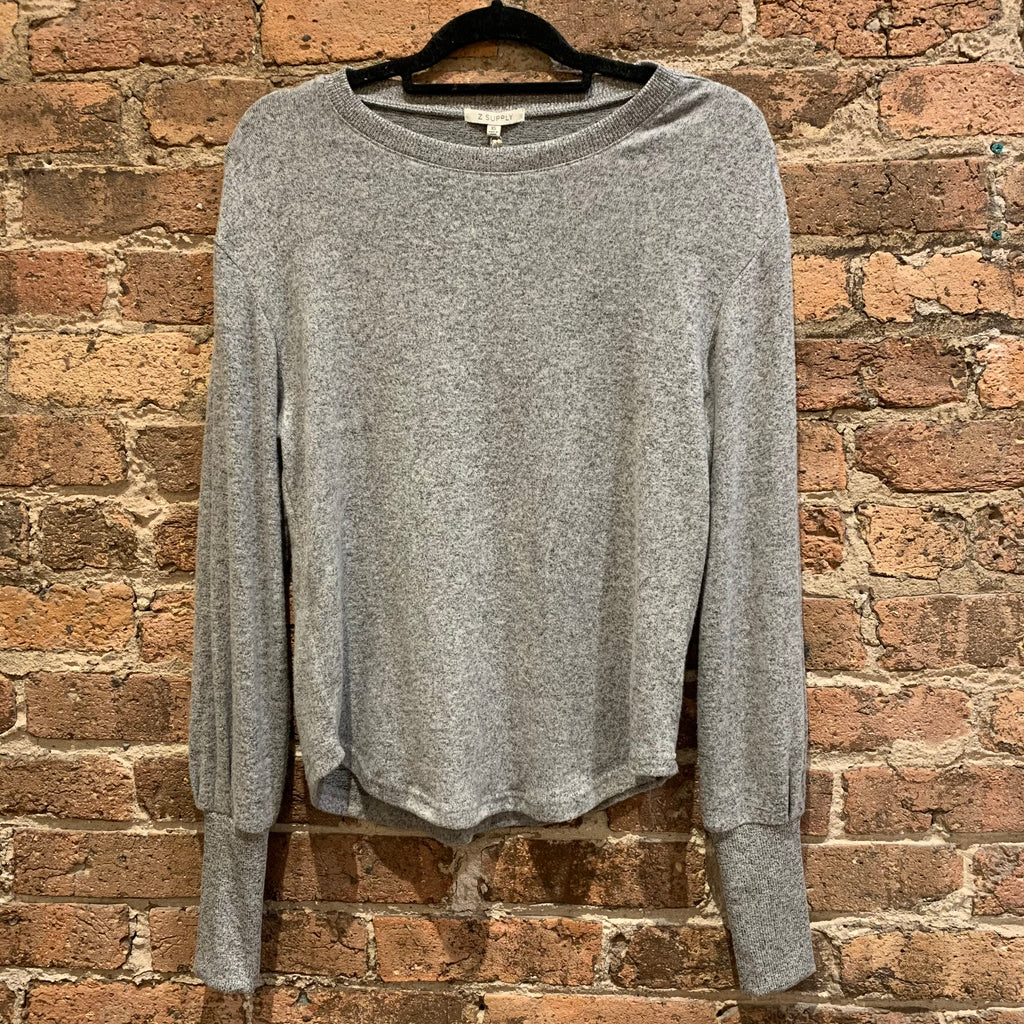 Z Supply Grey Vada Top