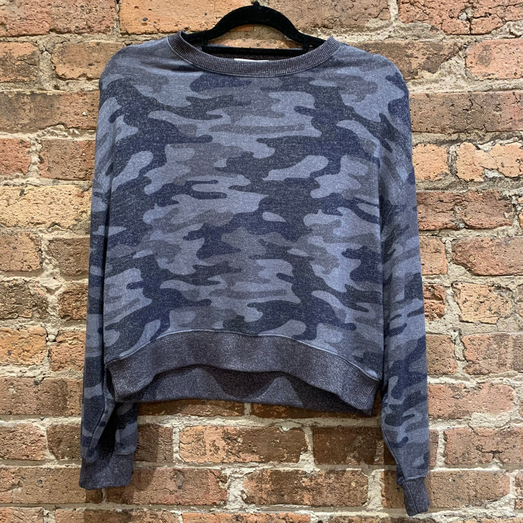Z Supply Noa Navy Tie-Dye Top