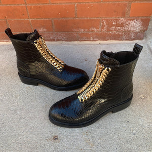 Jeffrey Campbell Damon Combat Zip