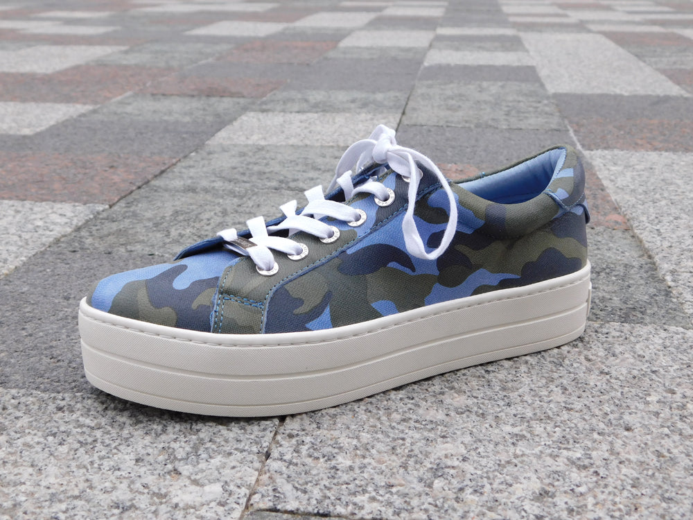J/Slides Hippie Blue Camo - Sneakers - J/Slides - shoostore