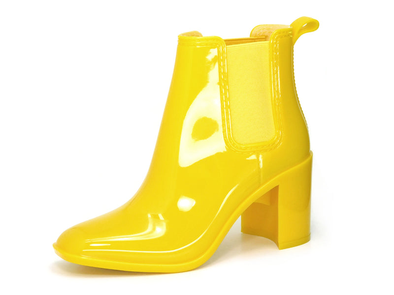 Jeffrey Campbell Hurricane Yellow - Bootie - Jeffrey Campbell - shoostore
