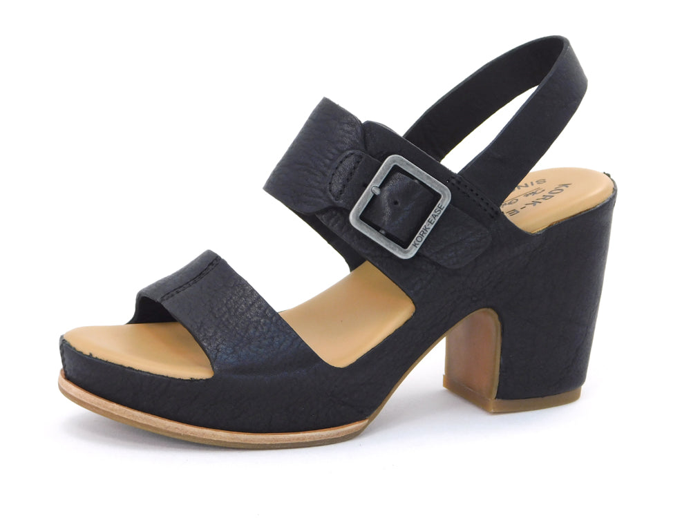 Kork-Ease San Carlos Black - Wedges - Kork-Ease - shoostore