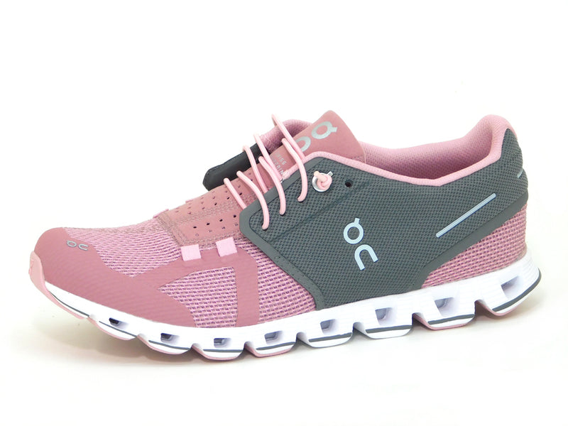ON Cloud Rose / Charcoal - Sneakers - ON Women's - shoostore