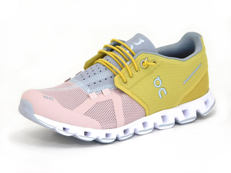 On Cloud Mustard/Rose - Sneakers - ON Women's - shoostore