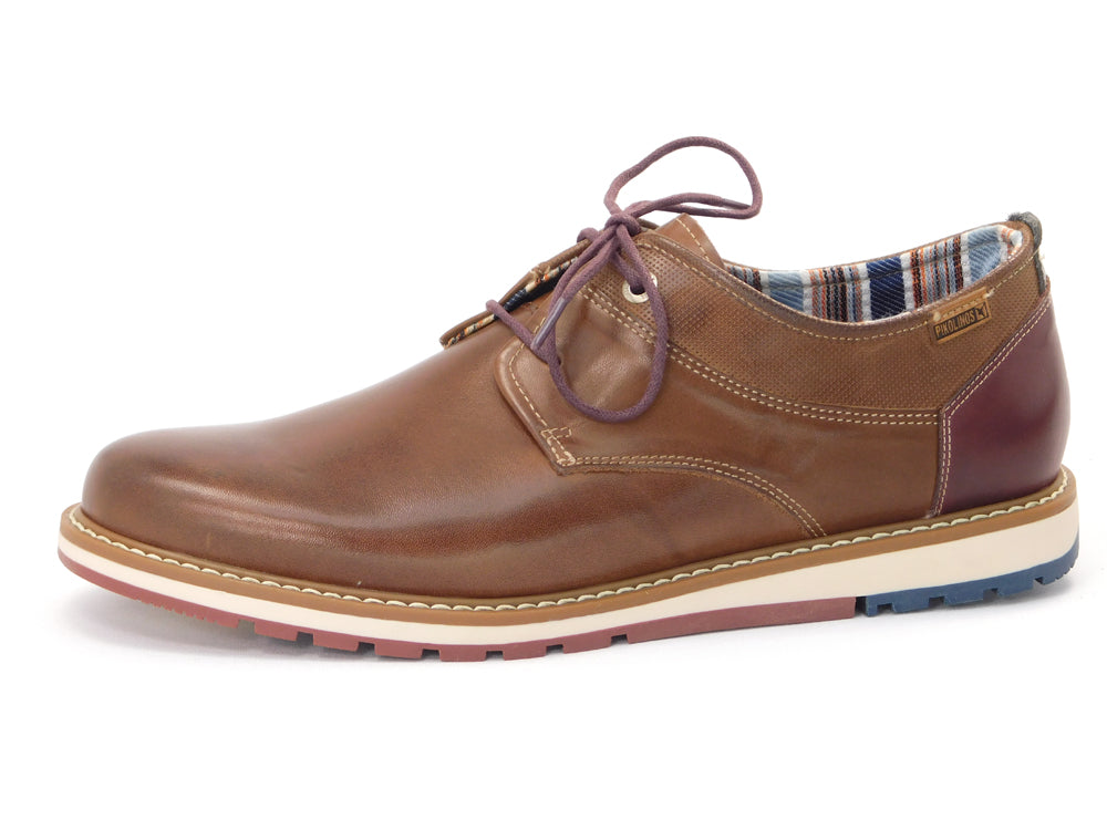 Pikolinos M8J-4366 Tan Oxford - Oxford - Pikolinos Men's - shoostore