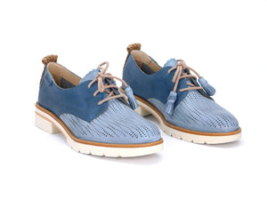 Pikolinos W7J-4846C1 Denim Perforated Oxford - shoostore