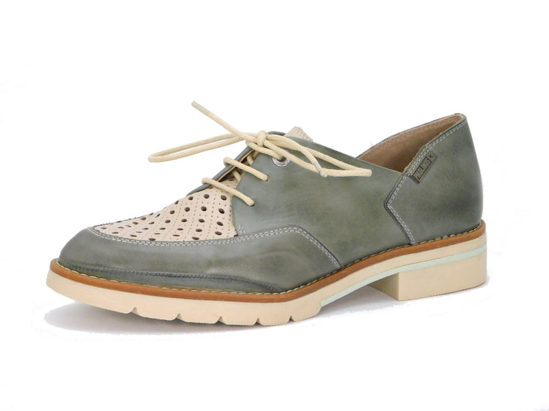 Pikolinos W7J-4916C1 Sage Perforated Oxford - Oxford - Pikolinos Women's - shoostore