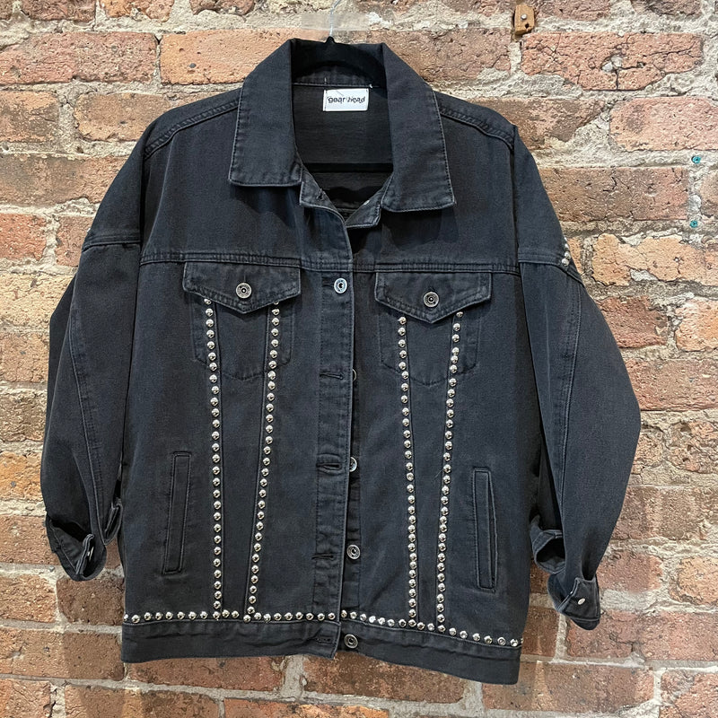 Gearhead Trucker Jacket - Music ON/World OFF