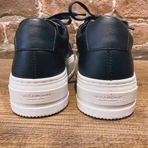Vagabond Judy Black Leather Sneaker
