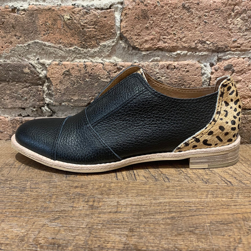All Black Colorful Cowman Leopard - shoostore