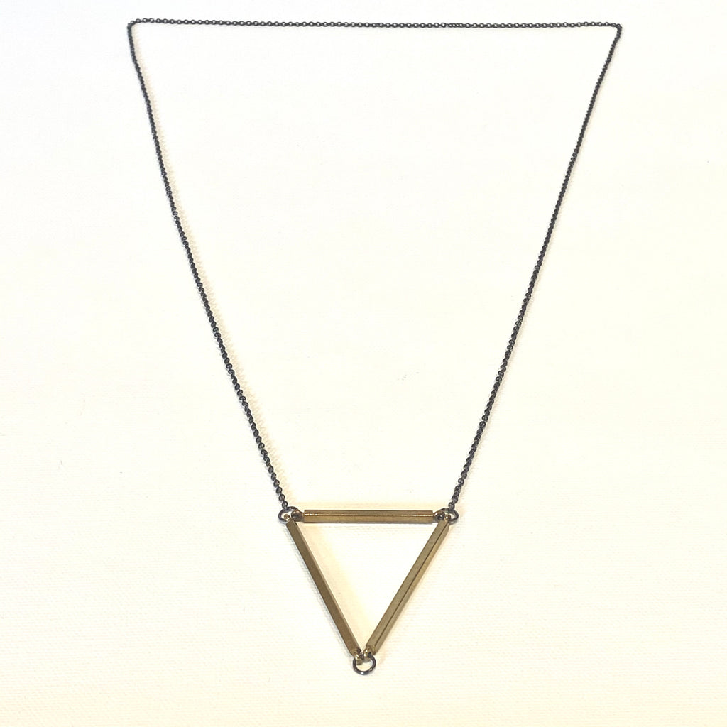 Julie Schmidt Medium Triangle Necklace