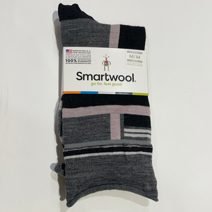 Smartwool Non-Binding Pressure Free Women's Striped Crew Socks
