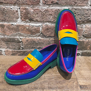Jeffrey Campbell Lenna Rainbow Loafer