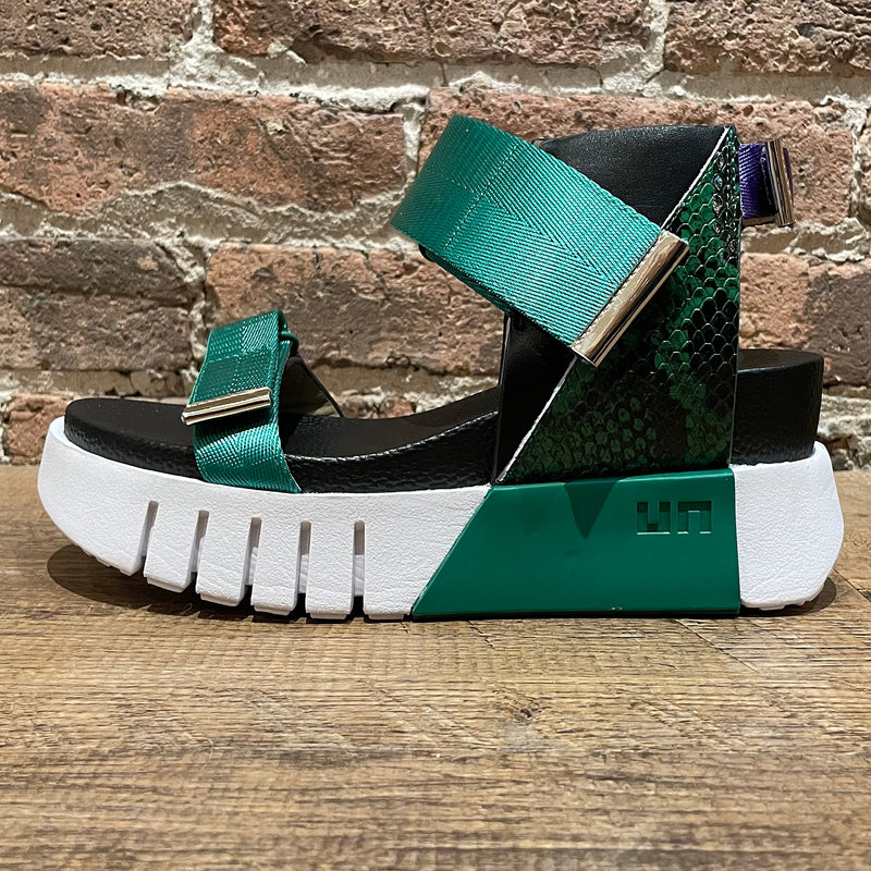 United Nude Delta Run Green Snake