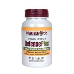 Defense-Plus GSE Tabs by NutriBiotic 90 Tabs