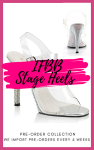 IFBB APPROVED STAGE HEELS