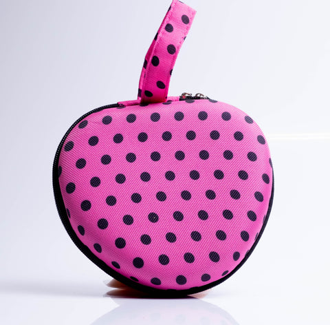 Small Bra Carry Case Pink Polka