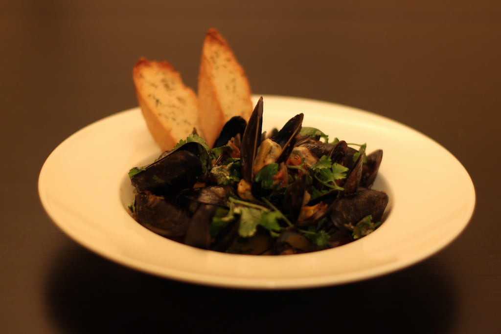 Chipotle, Lime Coconut Sauce for Mussels (for 2) - Cacio Pepe Meals