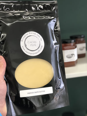 French Crepe Batter - Cacio Pepe Meals