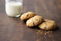 gluten free chocolate chip cookies - Cacio Pepe Meals