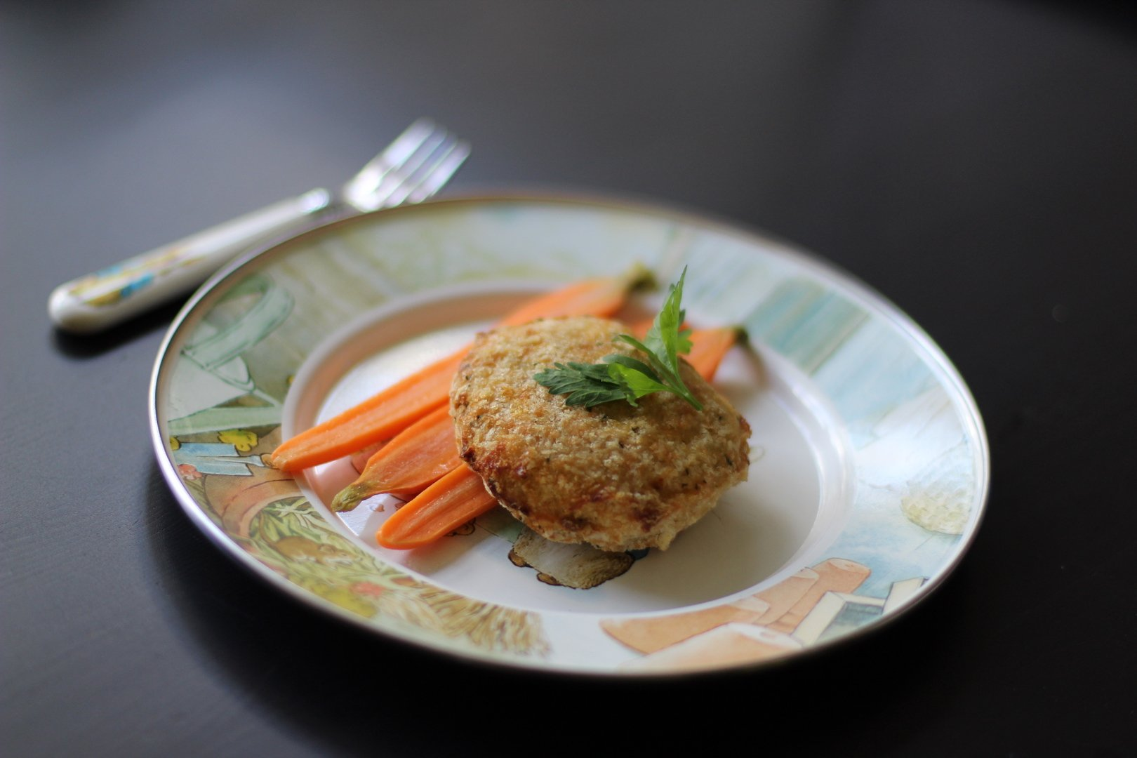 Kids Crispy Fish Cake - Cacio Pepe Meals
