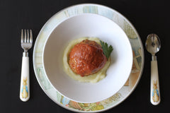 meatball and mash - Cacio Pepe Kids Meals