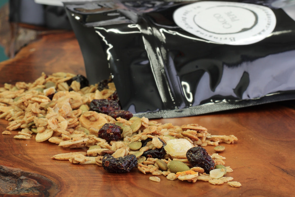 Maple, Cranberry, and Pumpkin Seed Granola - Cacio Pepe Meals