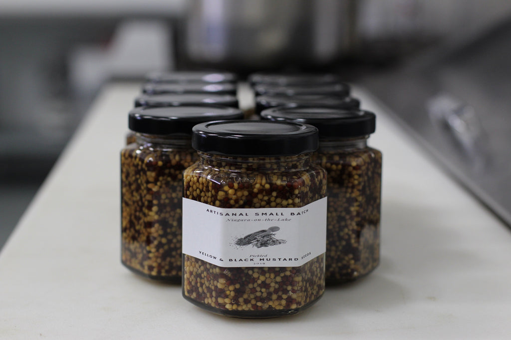 Pickled Mustard Seeds - Cacio Pepe Meals