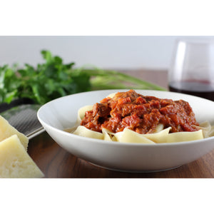 Wild Boar Ragu on Pappardelle (feeds 2) - Cacio Pepe Meals