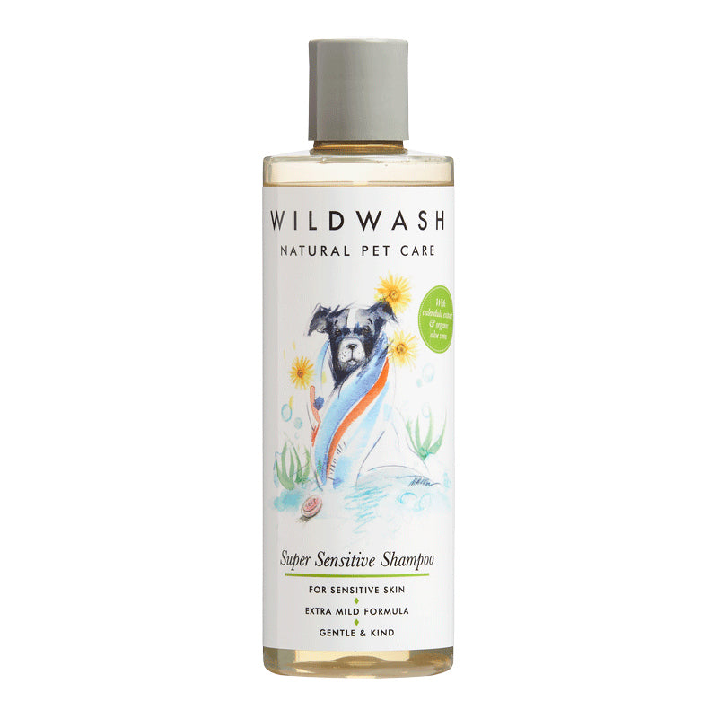 WildWash Super Sensitive Sjampó (250 ml.)