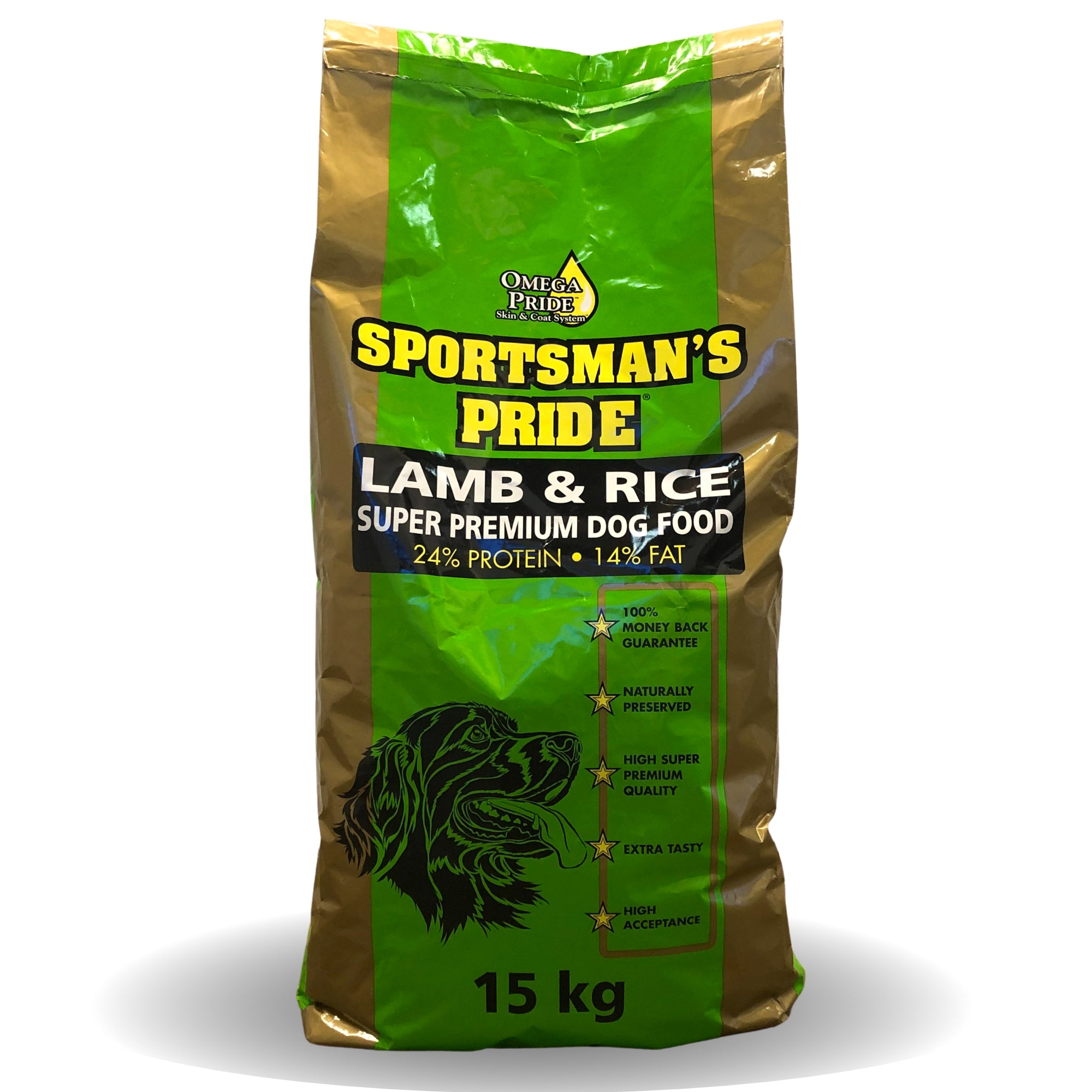 Sportsman's Pride Lamb & Rice 24/14 15 kg.
