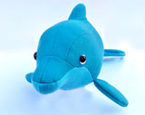 Dolphin plush sewing pattern - instant download pdf