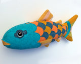 Salmon of Knowledge  - sewing pattern - Craft project - instant download pdf